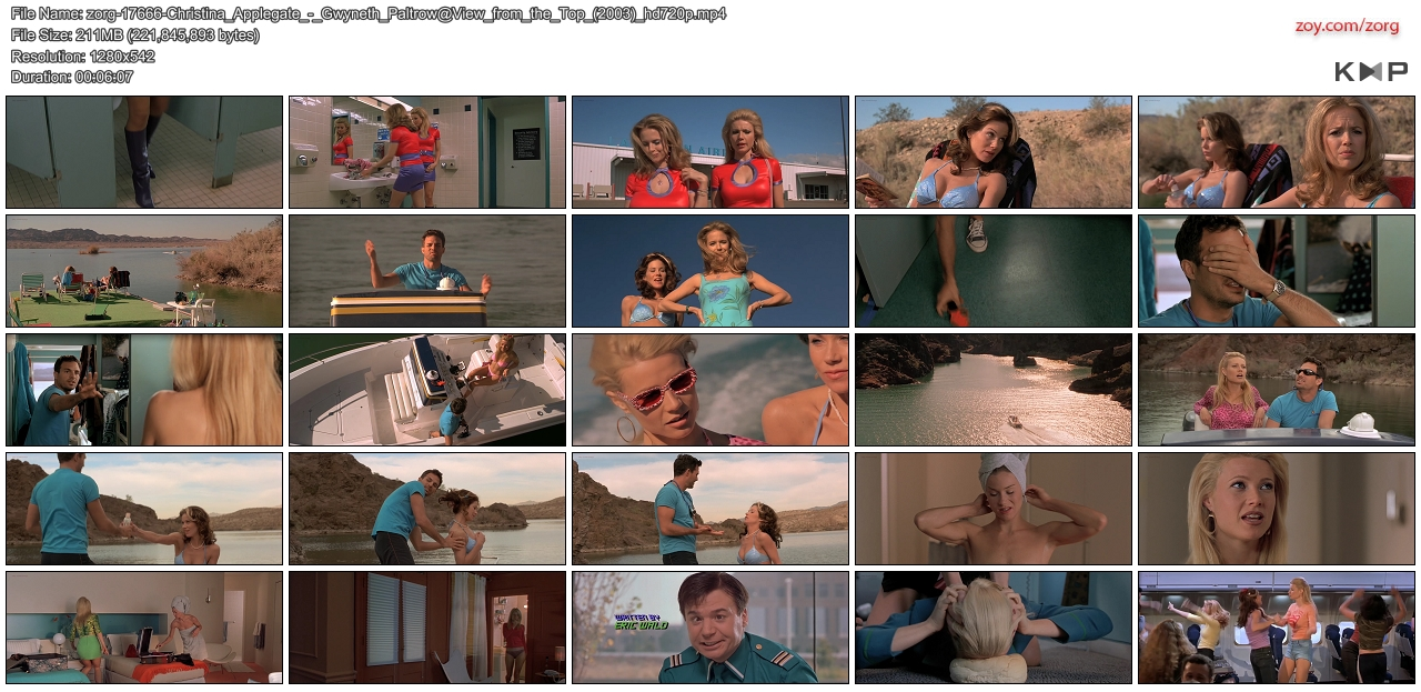 Christina Applegate hot in bikini Gwyneth Paltrow & Kelly Preston all hot and sexy - View from the Top (2003) hd720p (10)