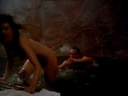 Elizabeth She nude butt and Mary Stavin nude topless - Howling V- The Rebirth (1989) hd720p (2)