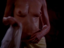 Elizabeth She nude butt and Mary Stavin nude topless - Howling V- The Rebirth (1989) hd720p (7)