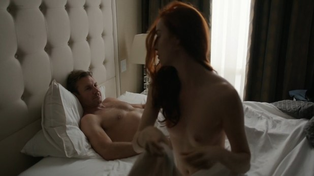 Elyse Levesque nude topless - Transporter The Series (2014) s2e12 hd720p (1)