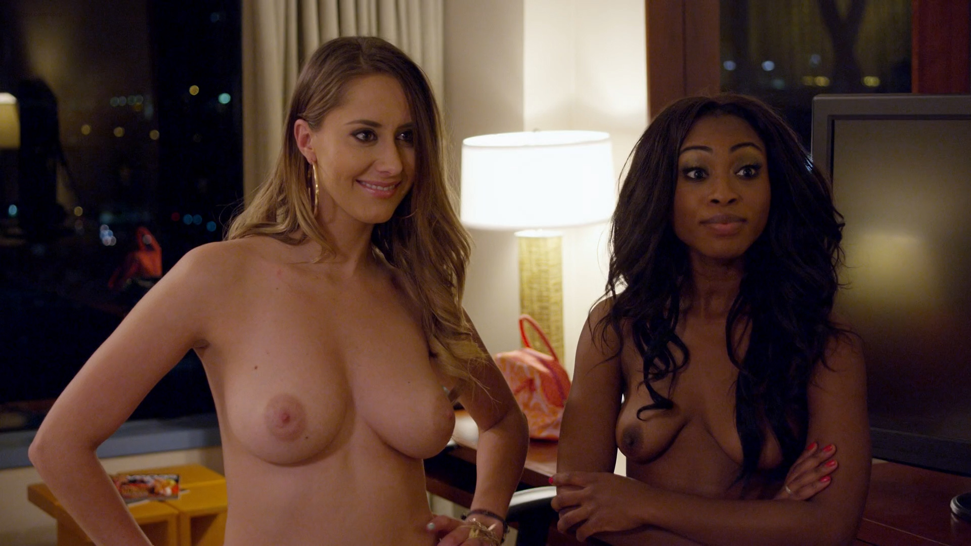 Heather Paige Cohn nude sex Samantha Stewart nude Megan Albertus nude sex and others all nude - Bachelor Night (2014) hd1080p (5)