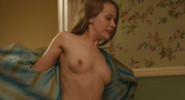Isabelle McNally nude topless and Marisa Tomei nude nipple peak - Loitering with Intent (2014) WEB-DL hd720p (7)