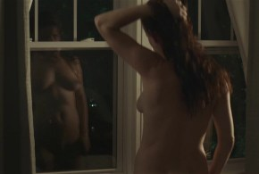 Juliette Lewis nude full frontal reflection in the window – Kelly & Cal (2014) hd720p