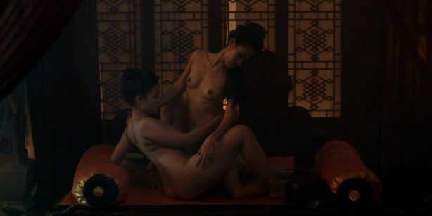Olivia Cheng nude full frontal bush and butt - Marco Polo (2014) s1e3-4 hd720/1080p