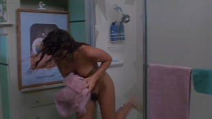 Tawny Kitaen nude topless and nude hairy bush while getting out from the shower – Witchboard (1986) hd1080p
