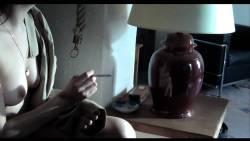 Zoé Bruneau nude full frontal and explicit sex - Adieu Au Langage (FR-2014) 1080p (8)