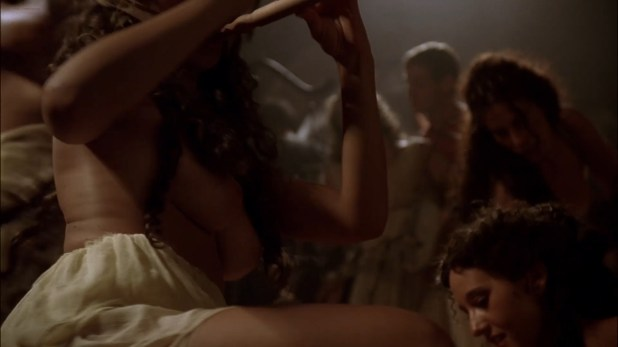 Zuleikha Robinson nude and sex Polly Walker nude topless and dancing all others nude too - Rome (2007) s2e5 hd1080p (2)