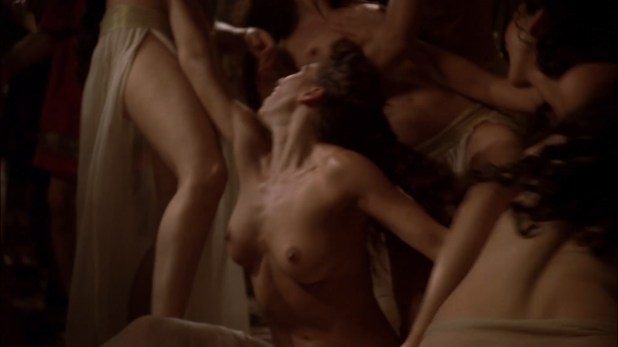 Zuleikha Robinson nude and sex Polly Walker nude topless and dancing all others nude too - Rome (2007) s2e5 hd1080p (9)