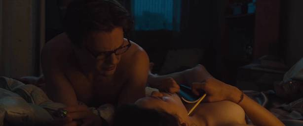 Astrid Bergès-Frisbey nude topless and sex - I Origins (2014) hd1080p (3)