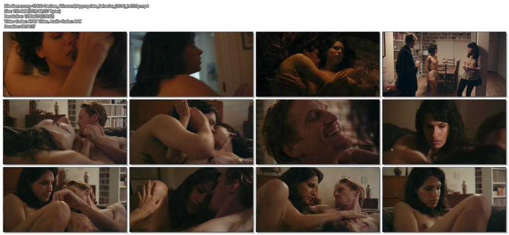Desiree Akhavan nude topless and sex threesome - Appropriate Behavior (2014) WEB-DL hd720p (6)