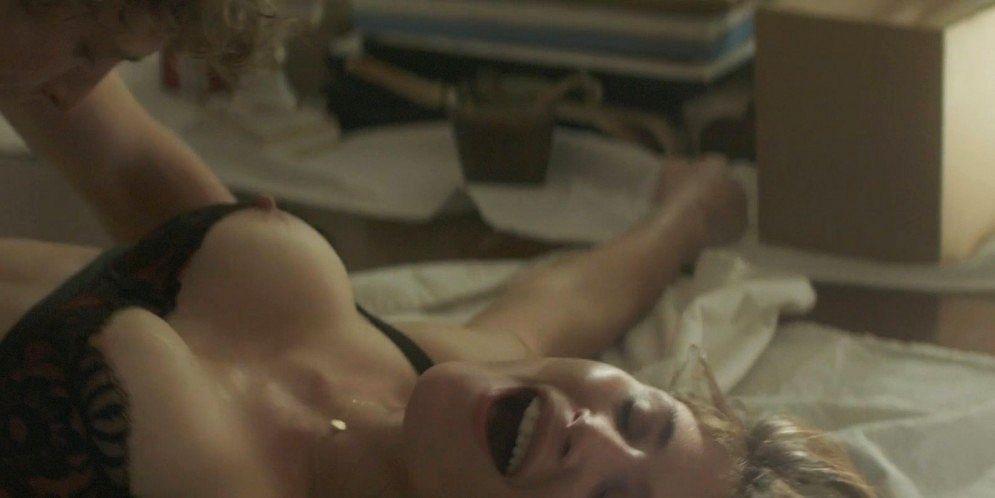 Gemma Arterton nude topless and hot sex - Gemma Bovery (2014) 1080p