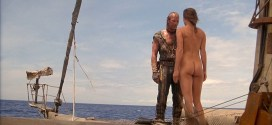 Jeanne Tripplehorn hot and cute maybe butt naked - Waterworld (1995) hd1080p (1)