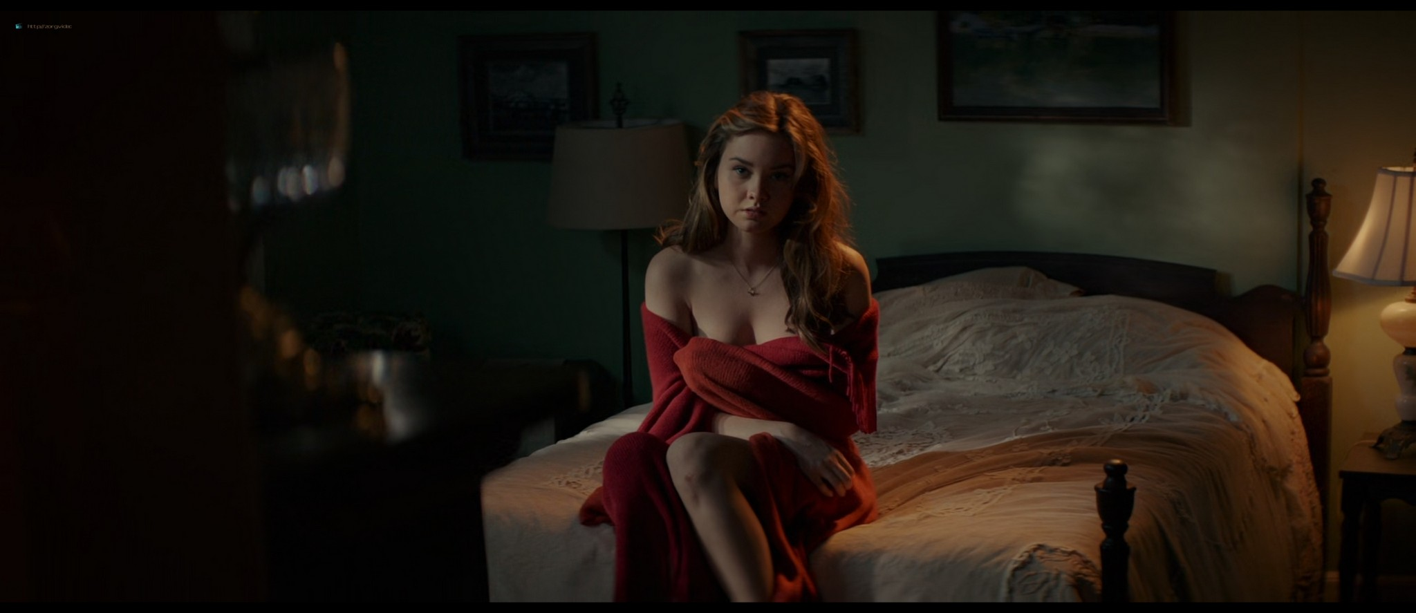 Michelle Monaghan hot see-through and Liana Liberato hot mild sex - The Best of Me (2014) HD 1080p BluRay (12)