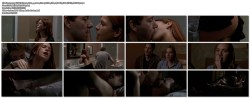 Rhona Mitra hot sex in bathroom and Laura Linney nude - The Life of David Gale (2003) (8)