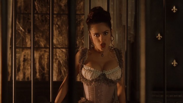 Salma Hayek nude butt crack Garcelle Beauvais nude but covered and Bai Ling hot tong - Wild Wild West (1999) hd1080p (2)