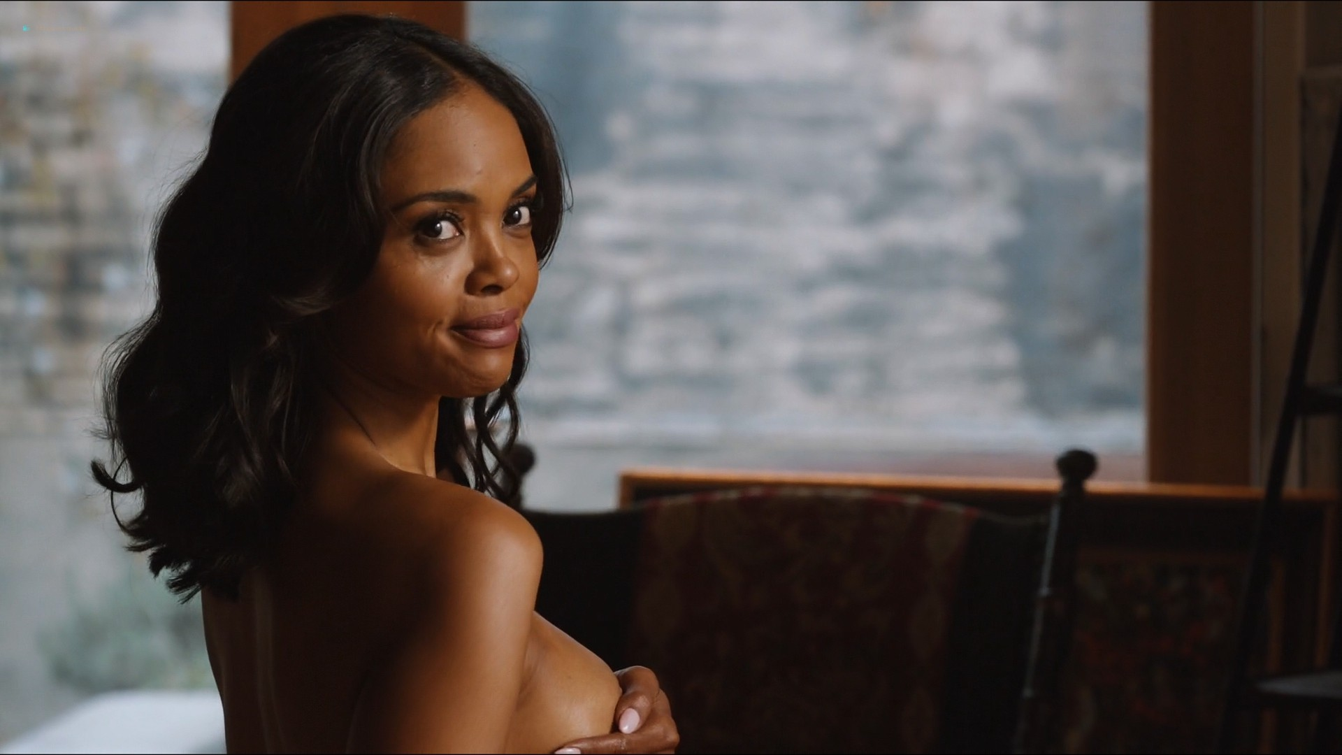 Sharon Leal nude and lot of sex others nude too - Addicted (2014) HD 1080p (9)