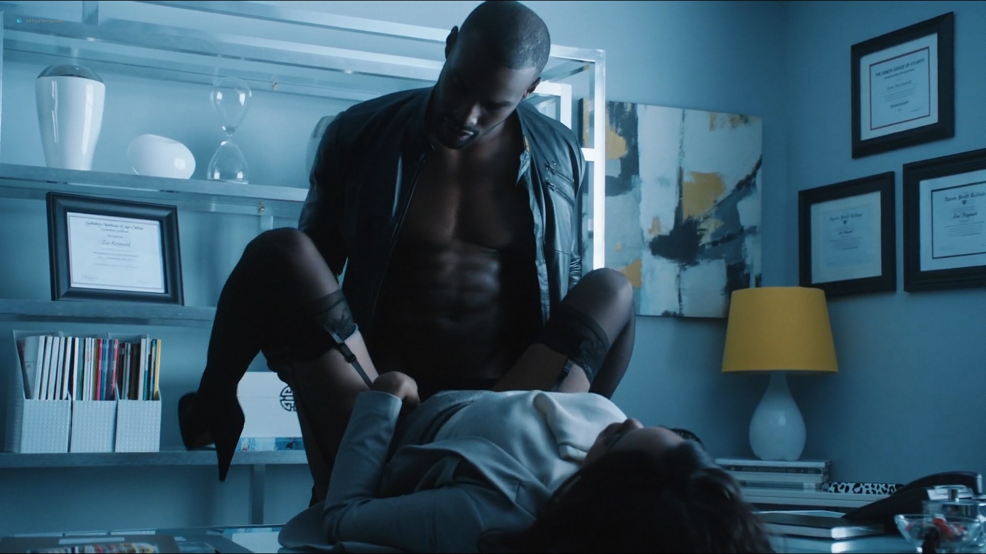 Sharon Leal nude and lot of sex others nude too - Addicted (2014) HD 1080p (5)