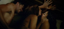 Jessica Parker Kennedy and Clara Paget nude sex threesome - Black Sails (2015) s2e5 hd1080p (5)
