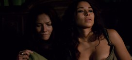 Jessica Parker Kennedy nude brief nipple while making out with Clara Paget - Black Sails s2e2 (2015) hd720-1080p
