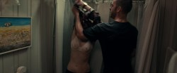 Patricia Clarkson nude topless in the bath and see through - October Gale (2014) hd720p (2)