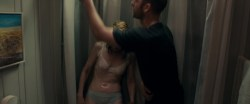 Patricia Clarkson nude topless in the bath and see through - October Gale (2014) hd720p (1)
