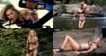 Rachael Taylor hot in bikini – Spliterheads (2009)