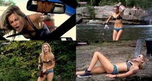Rachael Taylor hot in bikini - Spliterheads (2009)