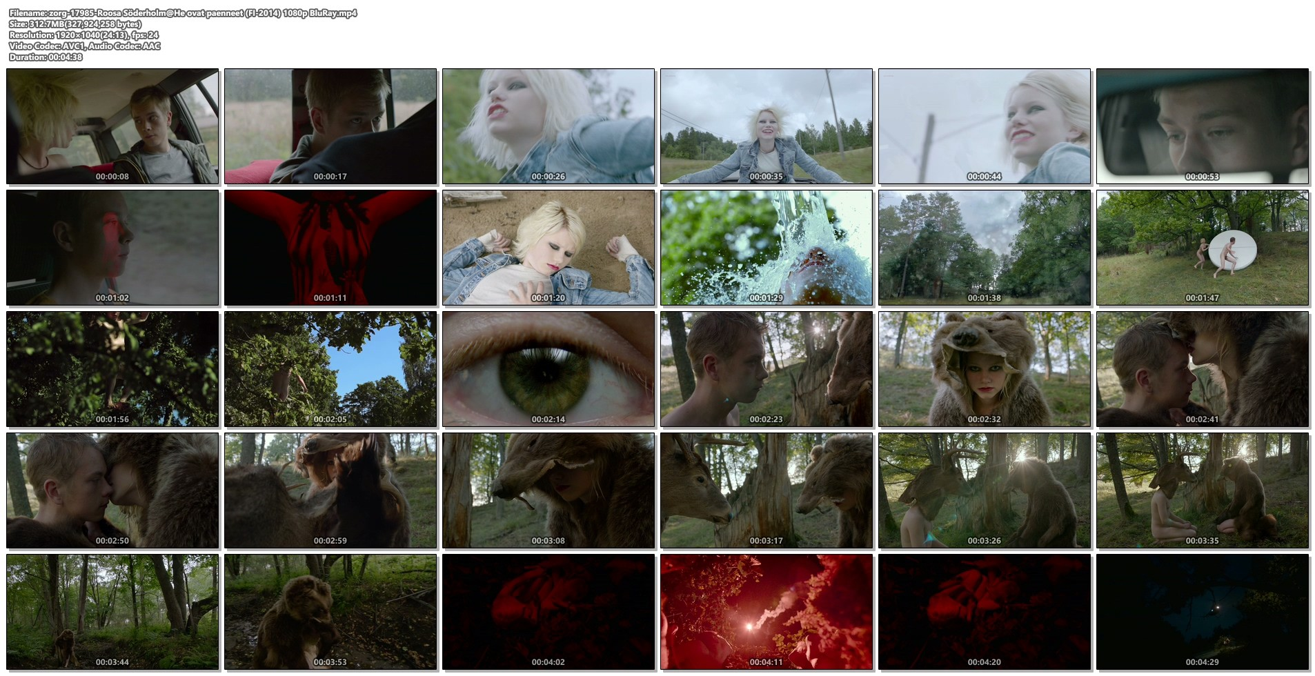 Roosa Söderholm nude topless and bush - He ovat paenneet (FI-2014) HD 1080p BluRay (1)