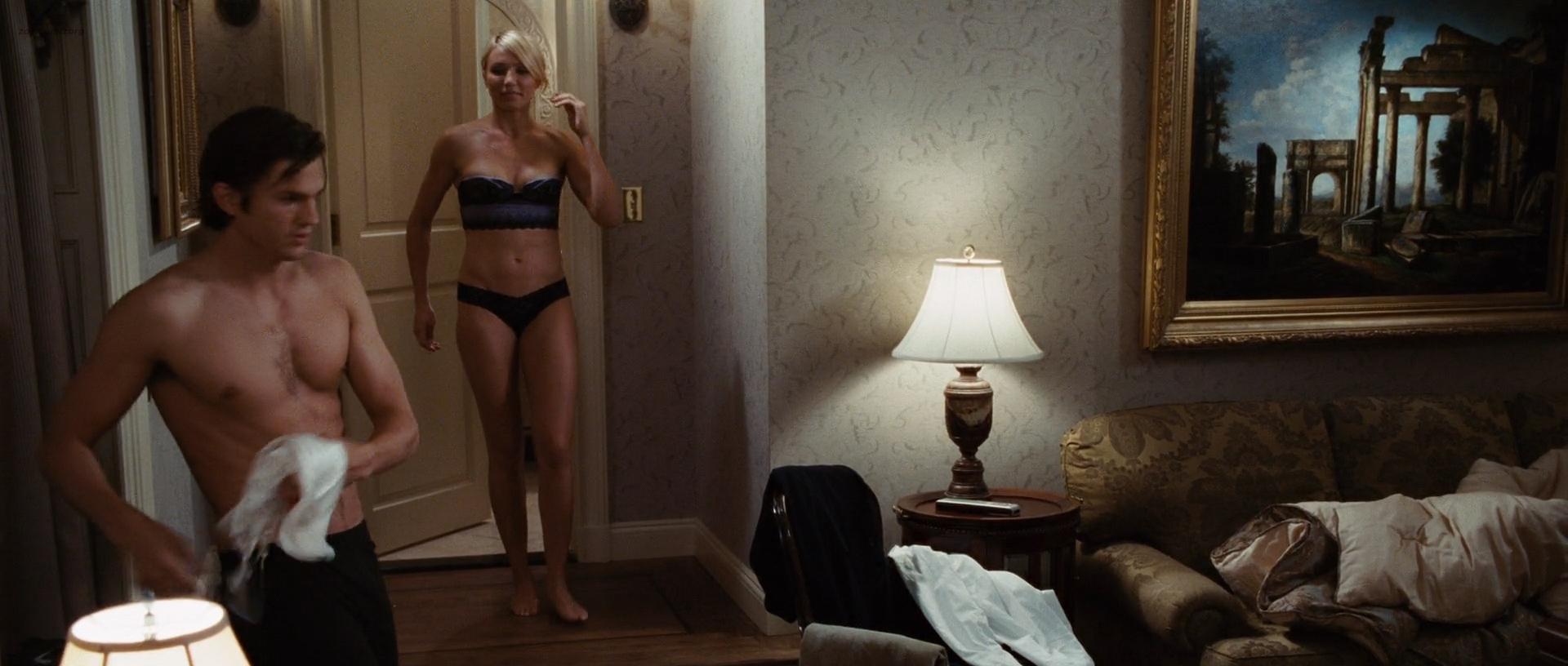 Cameron Diaz hot Krysten Ritter lingerie and Lake Bell hot in undies - What Happens In Vegas (2008) hd1080p (2)