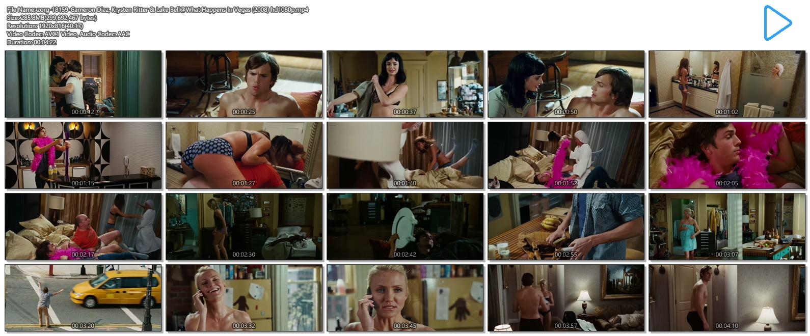 Cameron Diaz hot Krysten Ritter lingerie and Lake Bell hot in undies - What Happens In Vegas (2008) hd1080p (14)