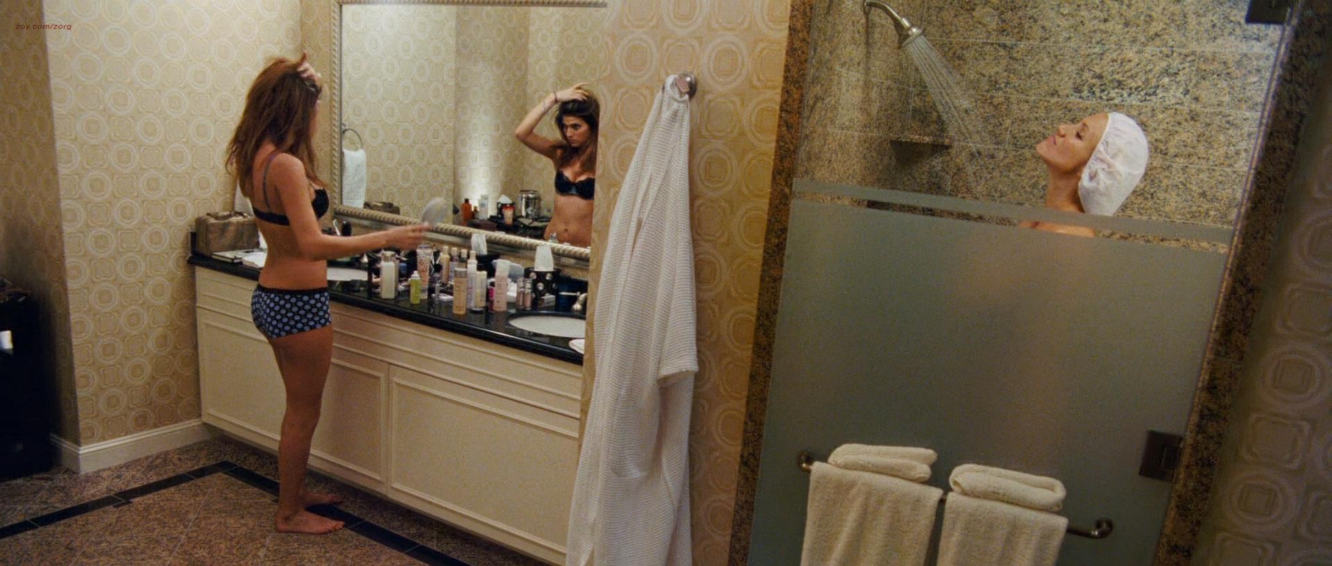 Cameron Diaz hot Krysten Ritter lingerie and Lake Bell hot in undies - What Happens In Vegas (2008) hd1080p (11)