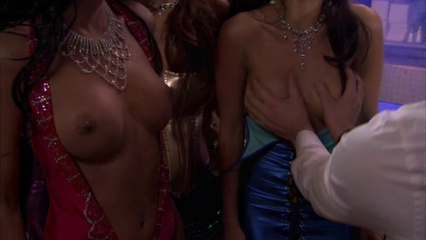 Christine Nguyen nude topless and Angelina Bulygina nude - Party Down (2009) s1e5 (5)
