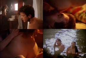 Claire Forlani nude topless sex and skinny dipping – Gypsy Eyes (1992)