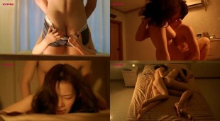 Jung Suh nude topless sex and simulated oral - Green Chair (KR-2005)