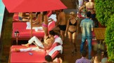 Margot Robbie hot in bikini some sex and nipple - Focus (2015) hd1080p (1)