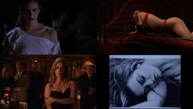 Mia Kirshner hot Mary Elizabeth Winstead cute Carmen Moore hot lingerie etc. - Wolf Lake (2001) season 1