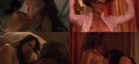 Mia Kirshner nude and Kate French nude lesbian sex - The L Word (2008) season 5 and 6