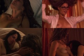 Mia Kirshner nude and Kate French nude lesbian sex – The L Word (2008) season 5 and 6