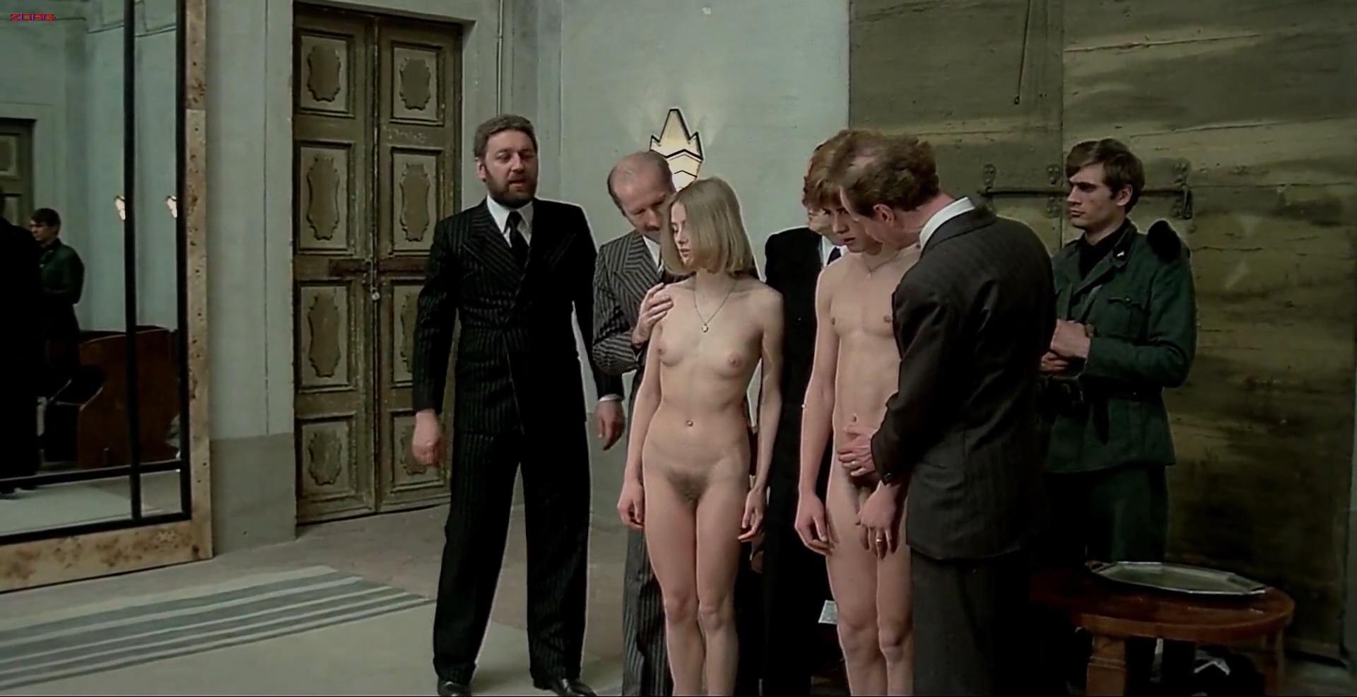 Renata Moar nude full frontal - Salo - 120 Days of Sodom (1975) hd1080p (1)