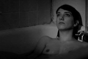 Sheila Vand nude brief topless in the bath – A Girl Walks Home Alone at Night (2014) WEB-DL hd1080p