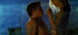 Teresa Palmer hot wet in bra and panties - Love and Honor (2013) hd1080p (6)