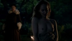 Caitriona Balfe nude topless and sex Lotte Verbeek nude topless - Outlander (2015) s1e10 hd720p (8)