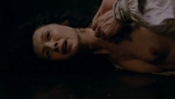 Caitriona Balfe nude topless and sex - Outlander (2015) s01e09 hd1080p (8)