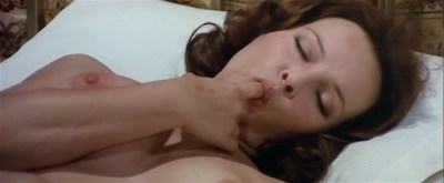 Laura Antonelli nude topless and nude bare butt - Il merlo maschio (IT-1971) (5)