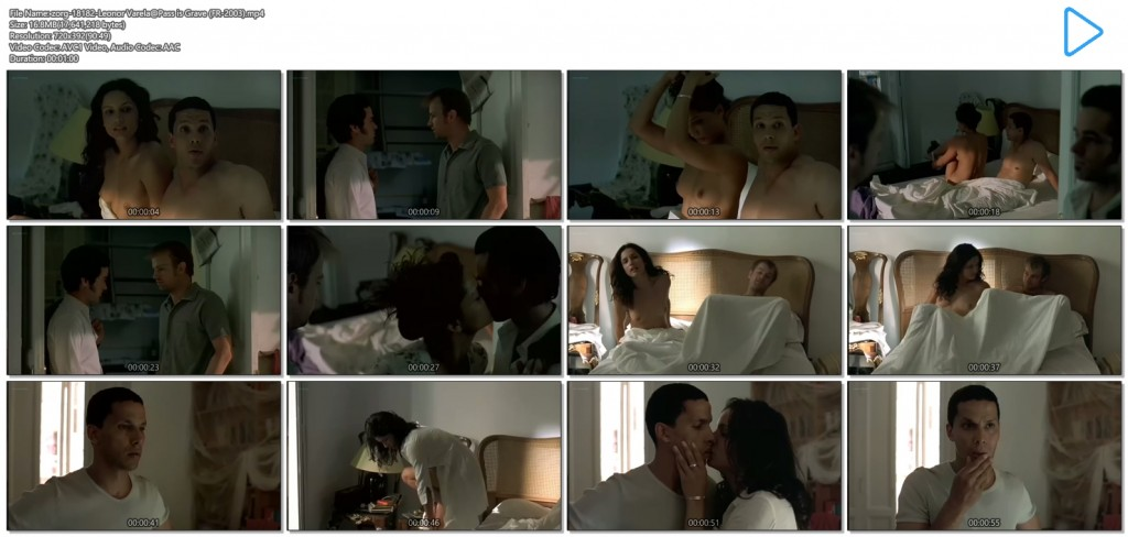 Leonor Varela nude topless and nude butt - Pass is Grave (FR-2003) (9)