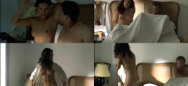 Leonor Varela nude topless and nude butt - Pass is Grave (FR-2003)