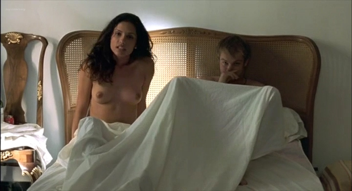 Leonor Varela nude topless and nude butt - Pass is Grave (FR-2003) (1)
