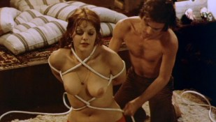 Tina Aumont nude bush and nude bound and tied - Lifespan (BE-NL-1974)