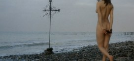 Françoise Pascal nude full frontal butt, bush and nude outdoor - La Rose de fer (FR-1973) hd1080p (23)