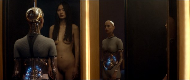 Alicia Vikander nude full frontal Sonoya Mizuno nude bush and others nude - Ex Machina (2015) hd1080p (3)